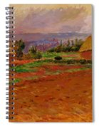 Field And Haystacks 1885 Spiral Notebook