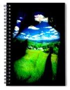 Field Girl Spiral Notebook