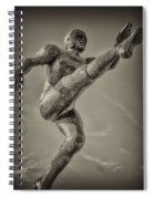 Field Goal Spiral Notebook