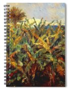 Field Of Banana Trees 1881 Spiral Notebook