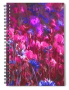 Field Of Dreams Abstract Spiral Notebook