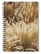 Field Of Feathers Spiral Notebook