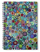 Field Of Blooms Spiral Notebook