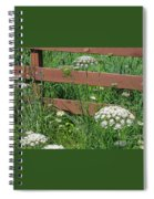 Field Of Lace Spiral Notebook