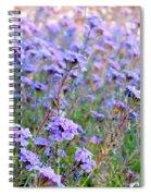 Field Of Lavendar Spiral Notebook