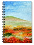 Field Of Poppies Spiral Notebook