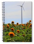 Where The Sunflowers Shine Spiral Notebook