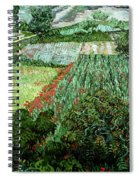Field With Poppies Spiral Notebook
