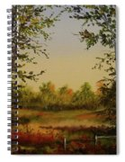 Fields And Trees Spiral Notebook
