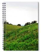 Fields In Glastonbury Spiral Notebook