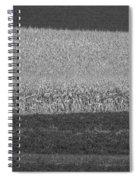 Fields Near Madison Spiral Notebook