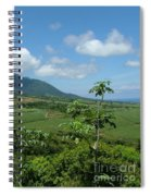St. Kitts Fields Of Cane Spiral Notebook