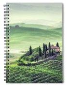 Fields Of Eternal Harmony Spiral Notebook