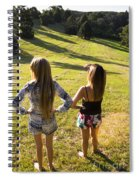 Fields Of Freedom Spiral Notebook