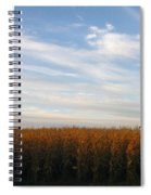 Fields Of Gold Spiral Notebook