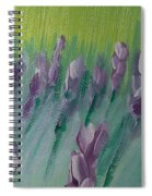 Fields Of Lavender Spiral Notebook