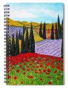 Fields Of Memories Spiral Notebook
