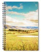 Fields Of Plenty Spiral Notebook
