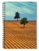 Fields Of Provence Spiral Notebook