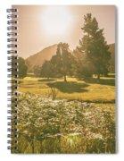 Fields Of Springtime Spiral Notebook