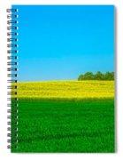 Fields Of Summer Spiral Notebook