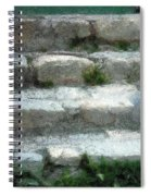 Fieldstone Stairs New England Spiral Notebook