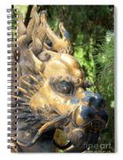 Fierce Foo Dog Face Spiral Notebook