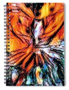 Fiery Crystal Spiral Notebook