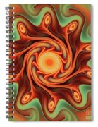 Fiery Dance Spiral Notebook