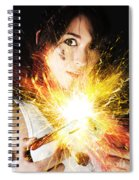 Fiery Jump Start Spiral Notebook