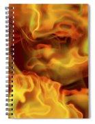 Fiery Mist Spiral Notebook