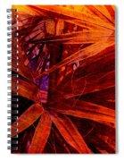Fiery Palm Spiral Notebook