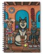 Fiesta Dogs Spiral Notebook