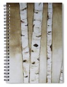 Fifteen Birch Trees Spiral Notebook