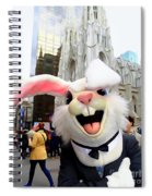 Fifth Ave Easter Bunny Spiral Notebook