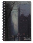 Fifth Avenue At Twilight Spiral Notebook