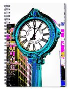 Fifth Avenue Building Clock New York  Spiral Notebook