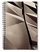 Fifth Avenue Details Sepia Spiral Notebook