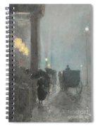 Fifth Avenue, Evening Spiral Notebook