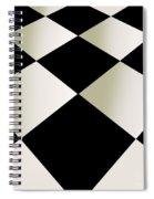 Fifties Kitchen Checkerboard Floor Spiral Notebook