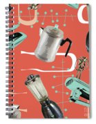 Fifties Kitchen Iv Spiral Notebook