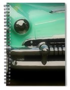Fifties Ride Spiral Notebook