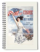 Fight Or Buy Bonds Spiral Notebook