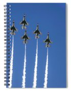 Fighter Attack Spiral Notebook