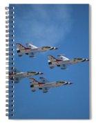 Fighter Spiral Notebook