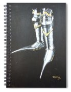 Fighting Boots Spiral Notebook