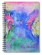 Fighting Cocks Spiral Notebook
