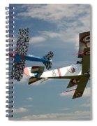 Fighting Colours 2 - Fokker D. Vll - Nieuport Spiral Notebook