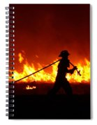 Fighting The Fire Spiral Notebook