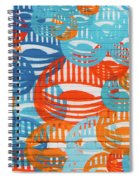 Fights Of Delight Spiral Notebook